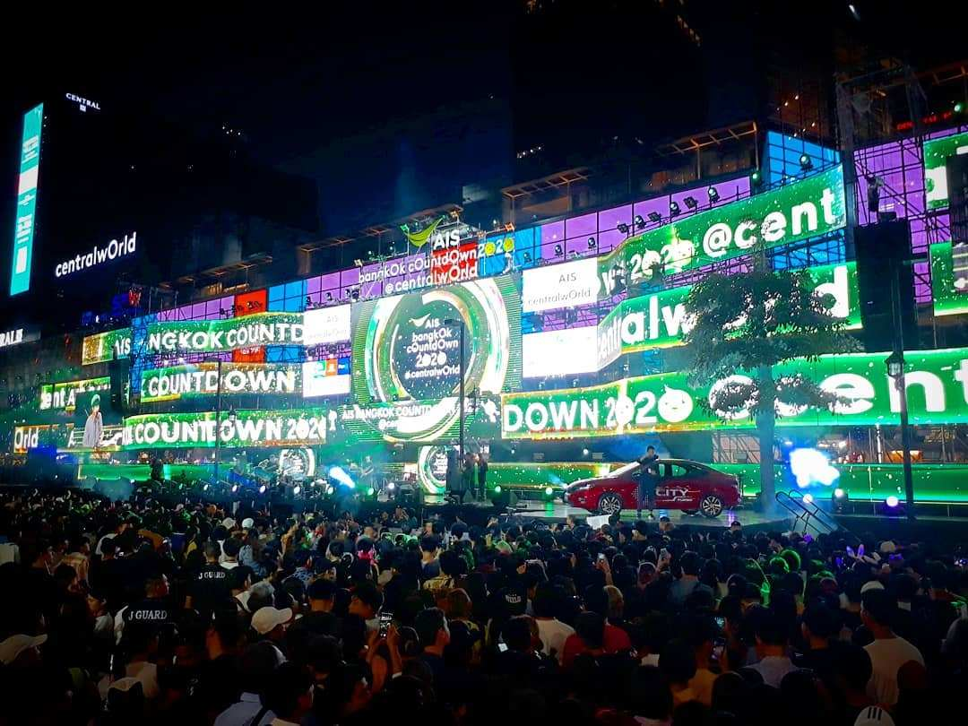 Central Word Countdown Bangkok 2019