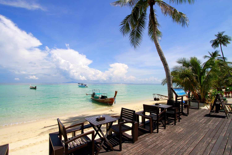 Laem Tong Restaurant aan het strand