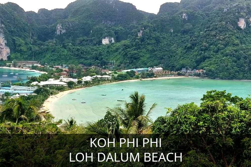 Loh Dalum Beach, lees hier alles over het feest strand van Koh Phi Phi