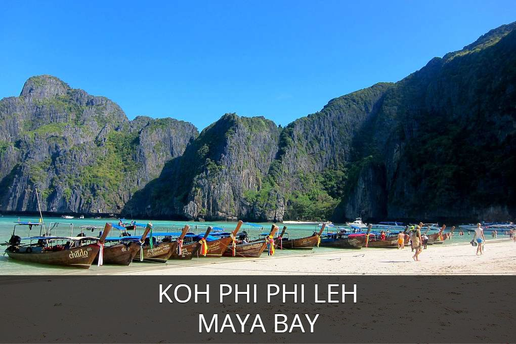 Lees Hier Alles Over Maya Bay Op Het Eiland Koh Phi Phi Leh