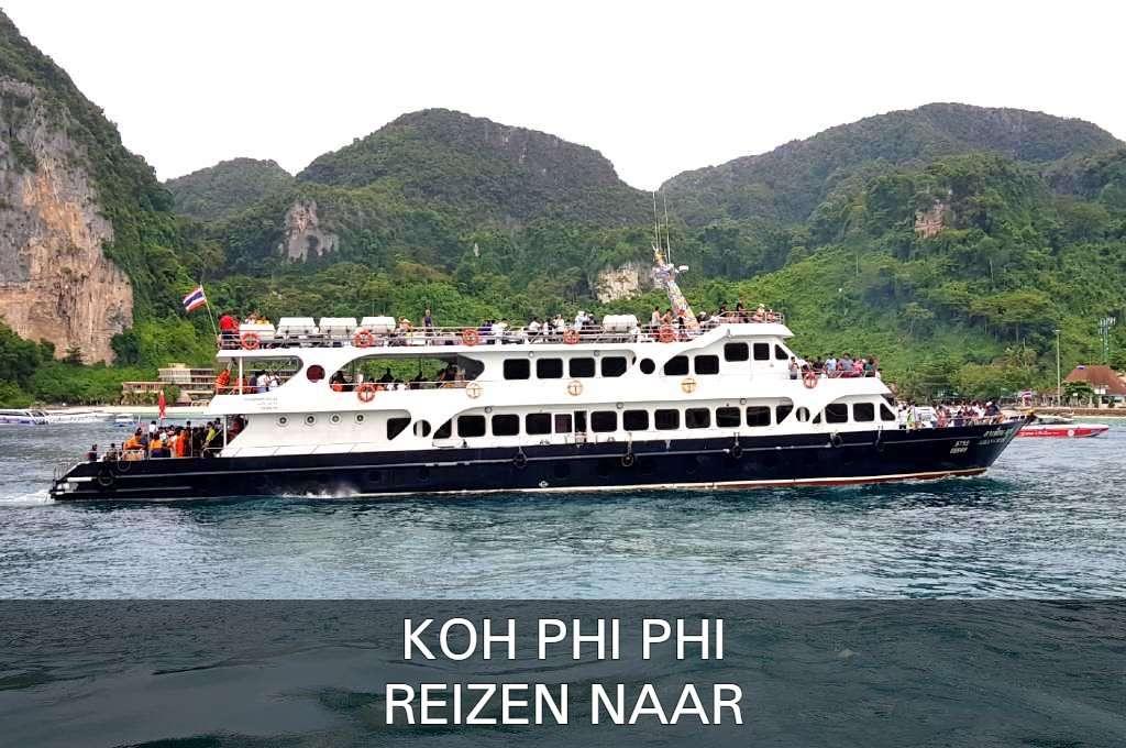 Klik hier als je alles wilt weten over hoe je het gemakkelijkst naar Koh Phi Phi kunt reizen