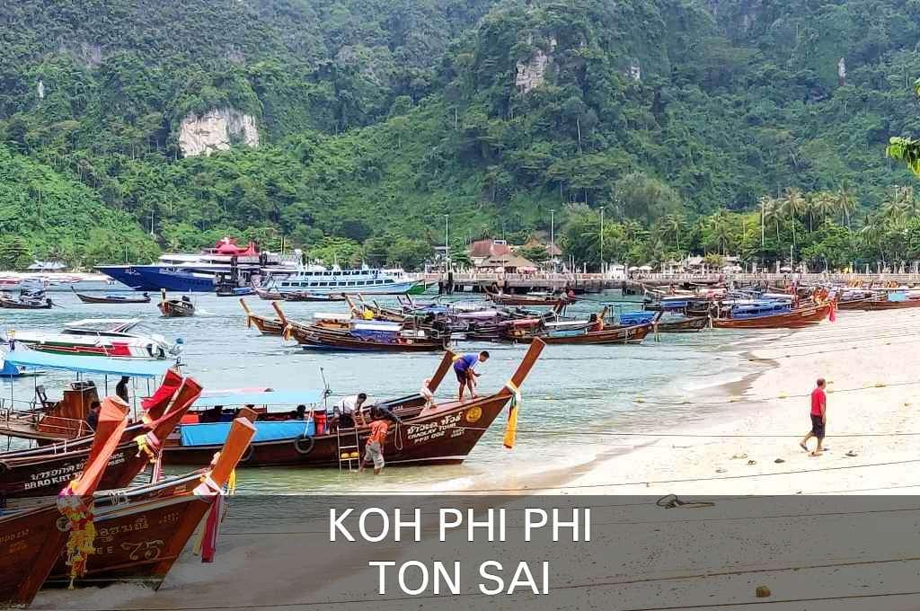 Klik hier als je alles wilt lezen over Ton Sai in Koh Phi Phi, Thailand