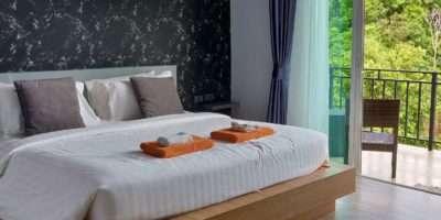 Bed En Balkon Van U Rip Resort Phi Phi Island
