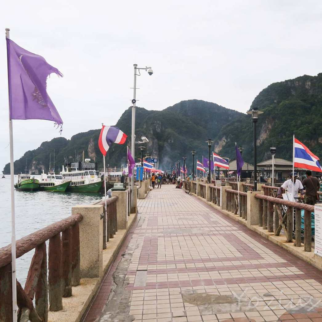 The Ton Sai Pier of Koh Phi Phi