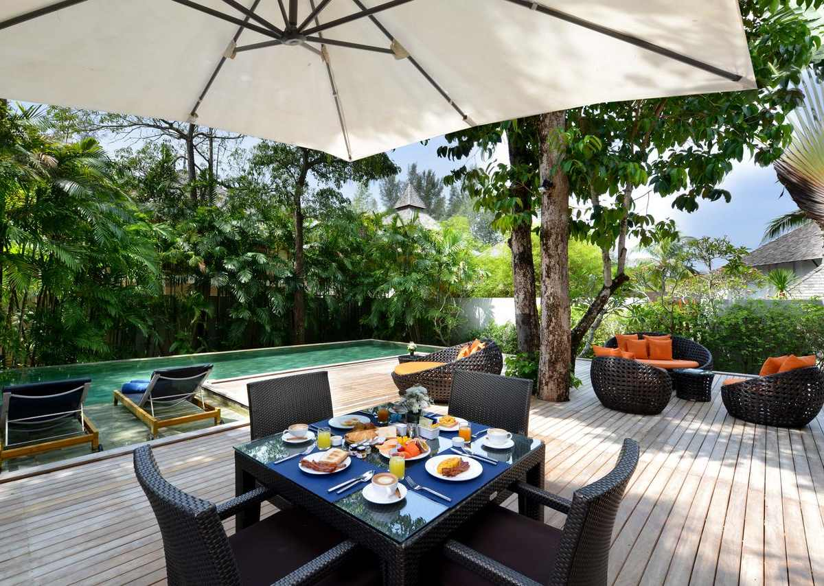 Private pool villa in the Layana Resort & Spa on Koh Lanta (one of the best luxury resorts on Koh Lanta)