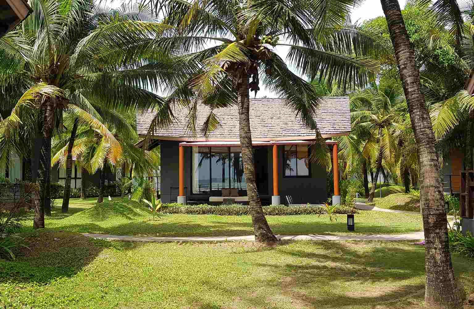Luxe villa aan het strand van Koh Lanta,Twin Lotus Resort