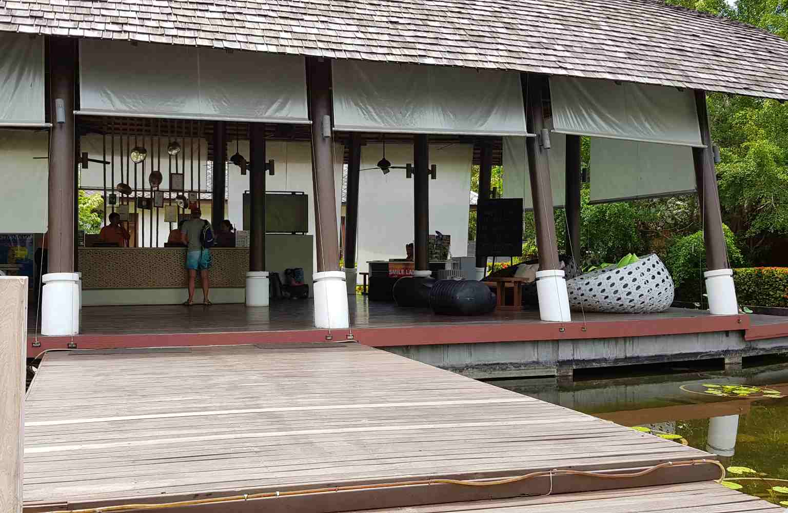 Twin Lotus, adult only receptie, Koh Lanta