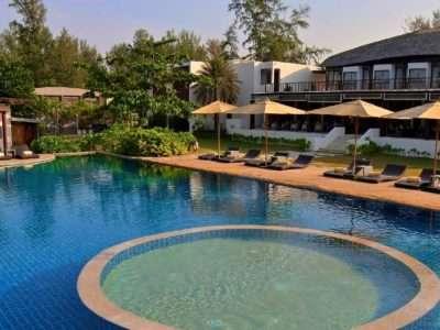 Twin Lotus Resort, Hotel Met Zwembad In Koh Lanta In Thailand