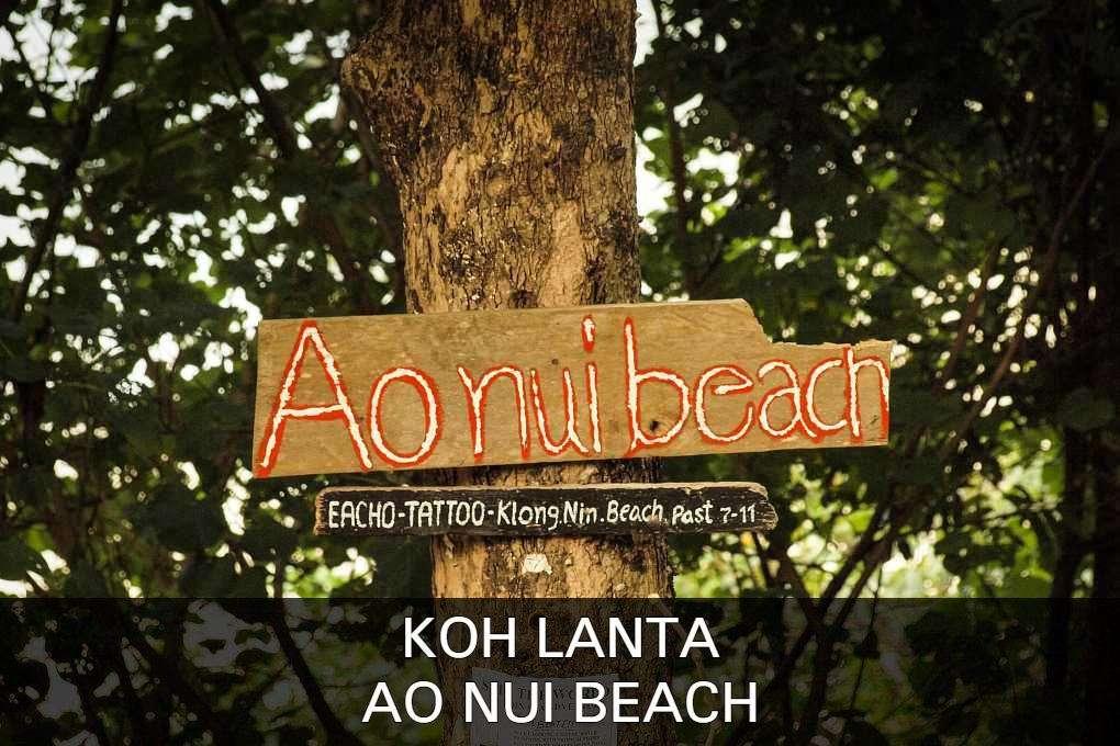 Koh Lanta Ao Nui Beach, Klik Hier Voor Meer Informatie