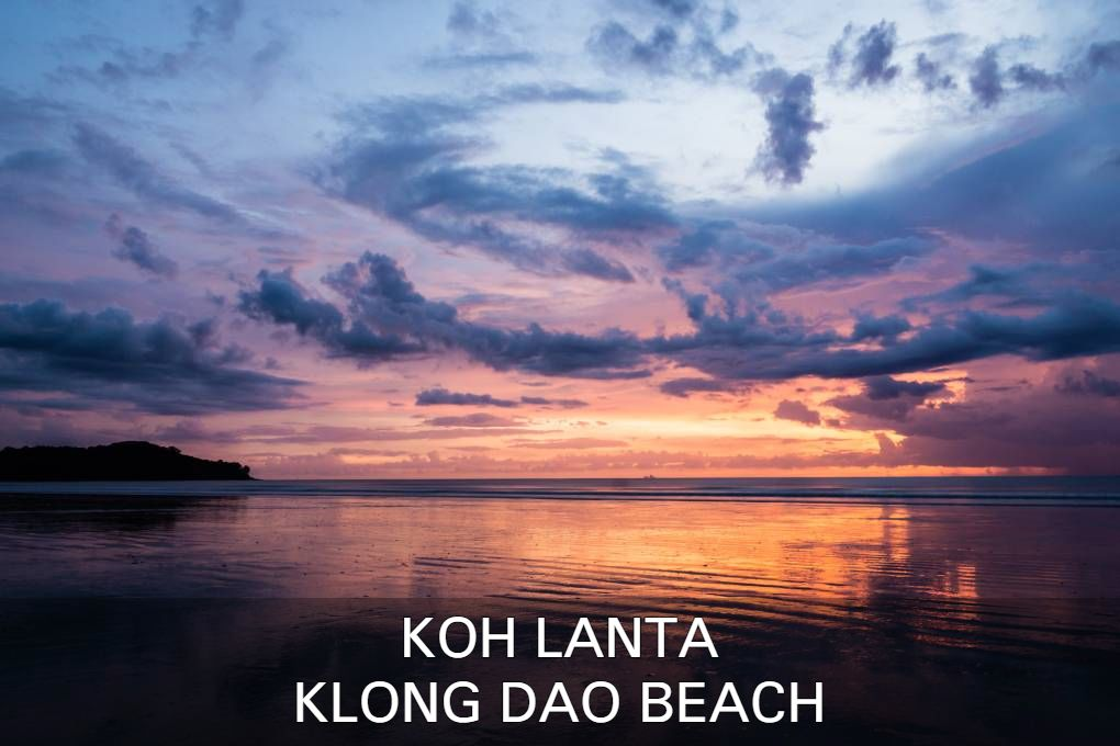 Click here if you want to know more about Klong Dap Beach on Koh Lanta, Thailand