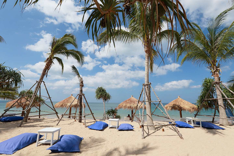 Lanta Casa Blanca located at the Relax Bay Beach on Koh Lanta, Thailand