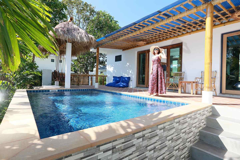 PoolVilla with 2 Bedrooms and a Pool of Lanta Casa Blanca on Koh Lanta, Thailand
