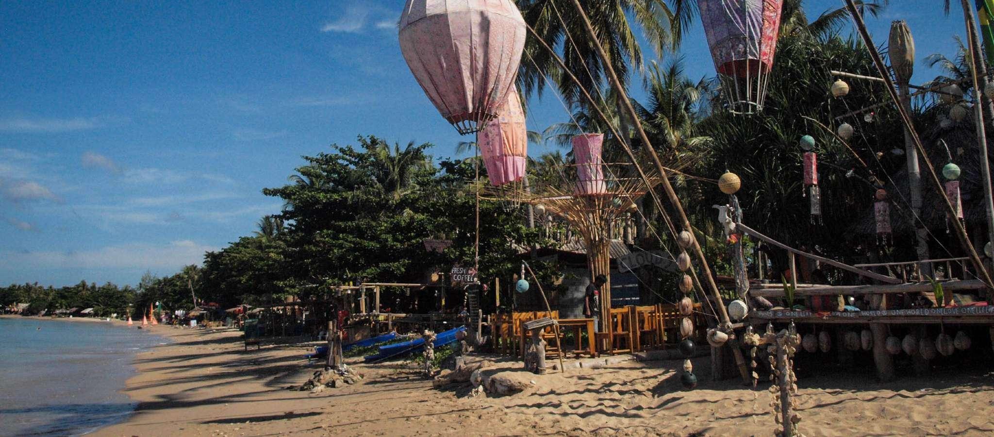 Lampionnen op Klong Khong Beach, Koh Lanta