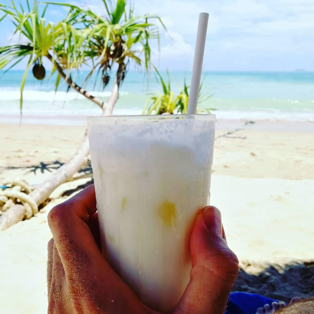 Cocktail on a beach of Koh Lanta