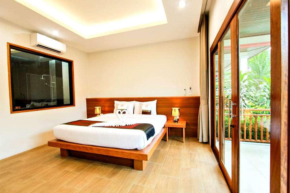 Hotel room at Verona Lanta Resort in Old Town, Koh Lanta