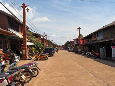 Old Town Koh Lanta In Thailand