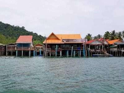 Saladan Koh Lanta, Restaurants On Stilts At The Pier
