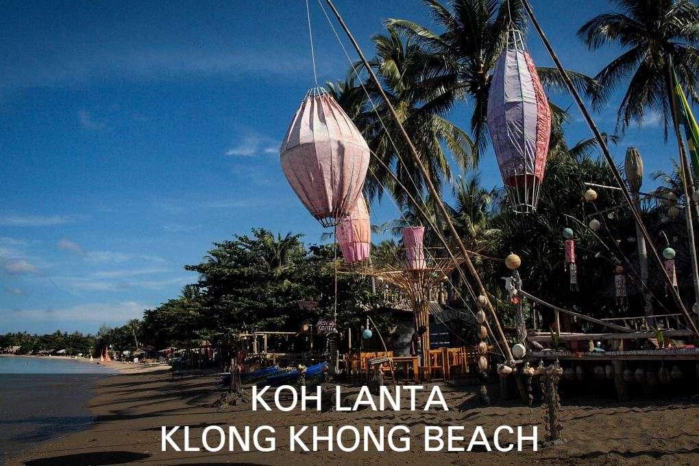 Klong Khong Beach, Koh Lanta, Klik Hier Voor Meer Informatie