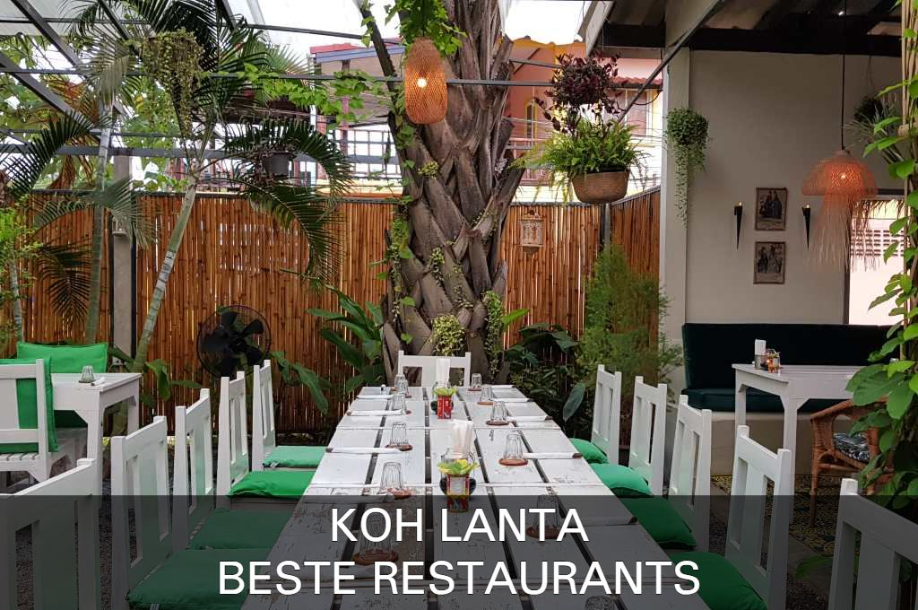 Click here if you want to see the best restaurants on Koh Lanta