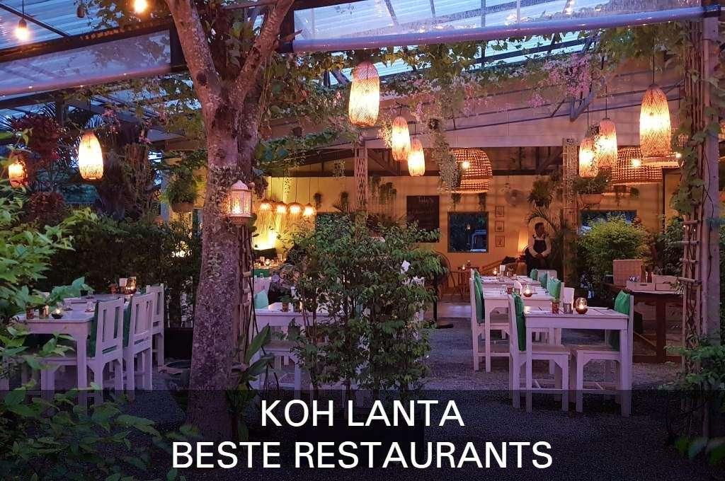 Klik hier als je de beste restaurants op Koh Lanta wilt zien