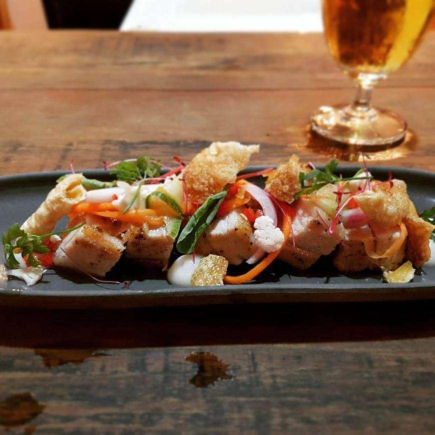 Mooi gerecht bij Kindee Restaurant, één van de beste restaurants in de buurt van Long Beach op Koh Lanta