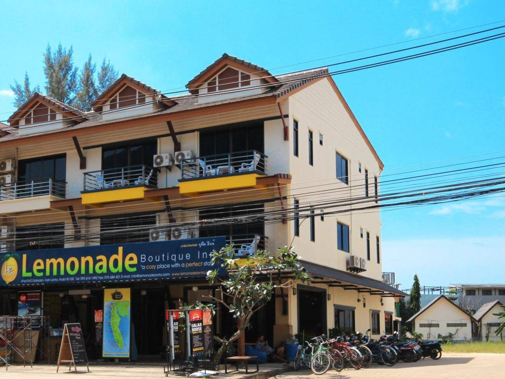 The Lemonade Boutique Inn, one of the best cheap places to sleep on Koh Lanta