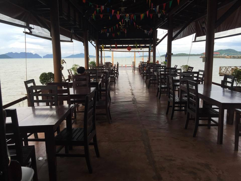 The back of the Rareview Coffee & Restaurant, one of the best restaurants on koh lanta!