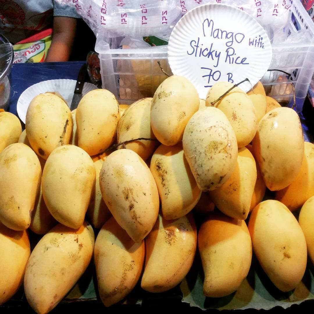 Saladan Market, Mango Sticky Rice