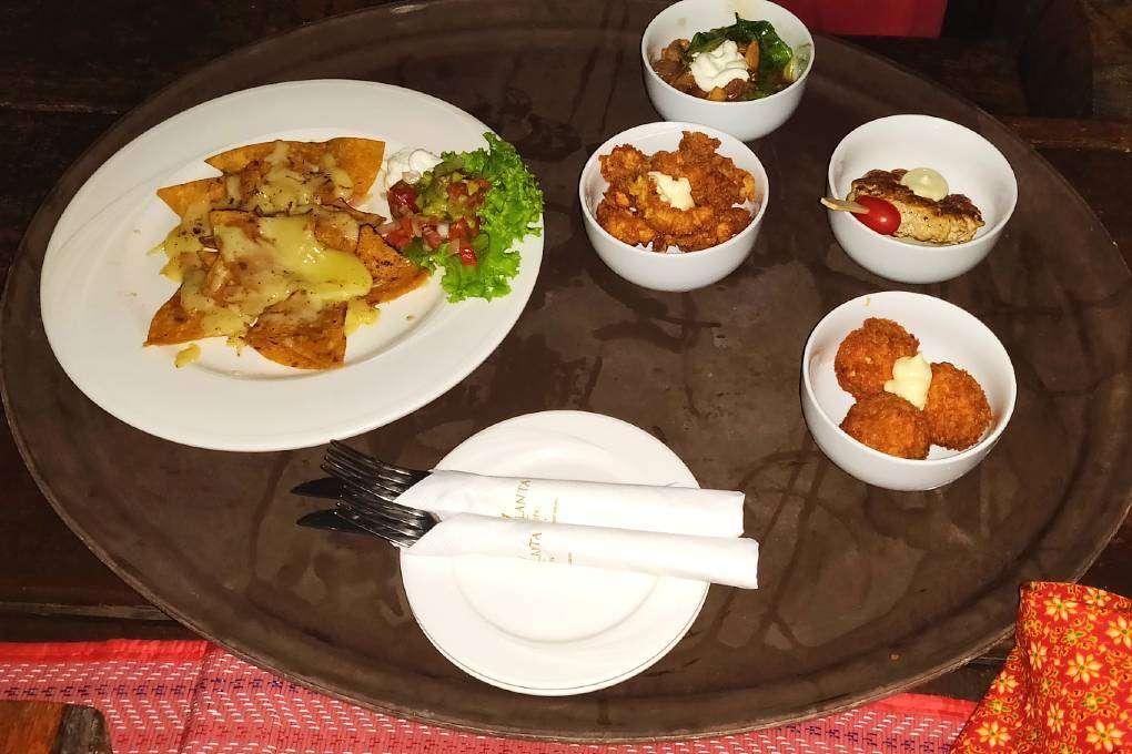 Tappas at The Reggae Bar on Koh Lanta, one of the best restaurants on koh lanta!