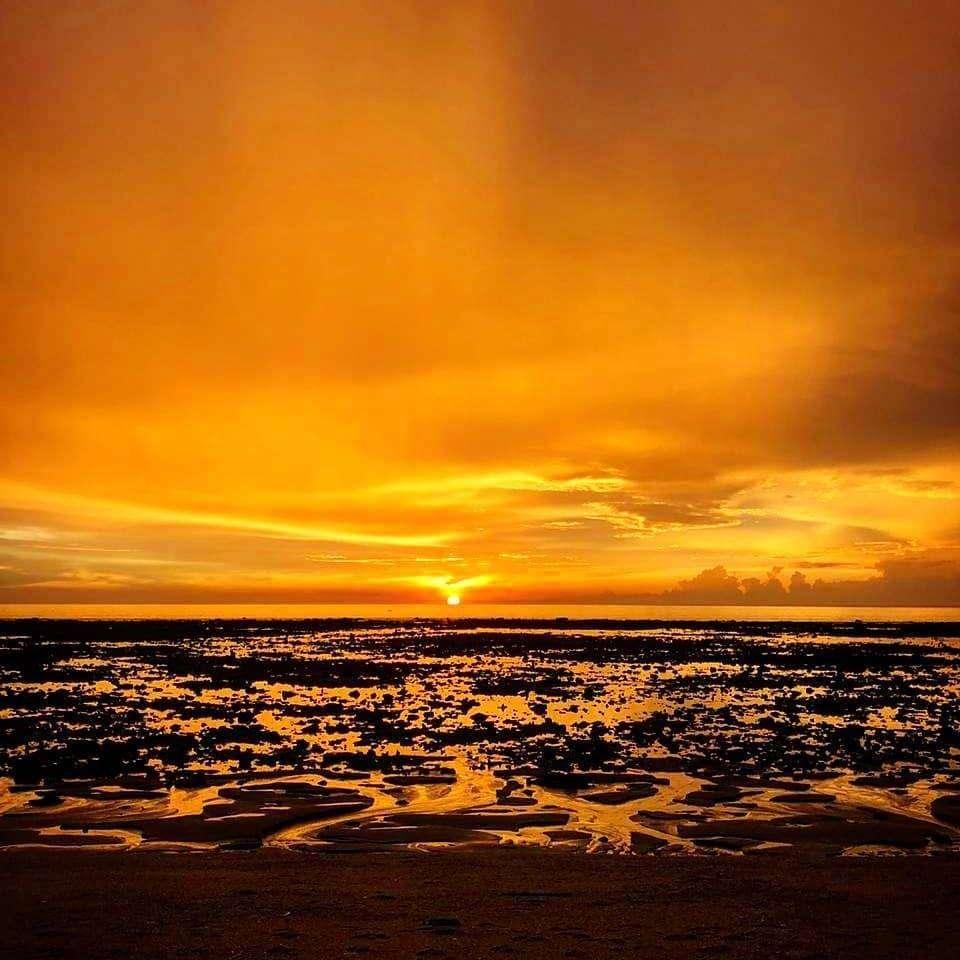 Zonsondergang gezien vanaf Koh Lanta