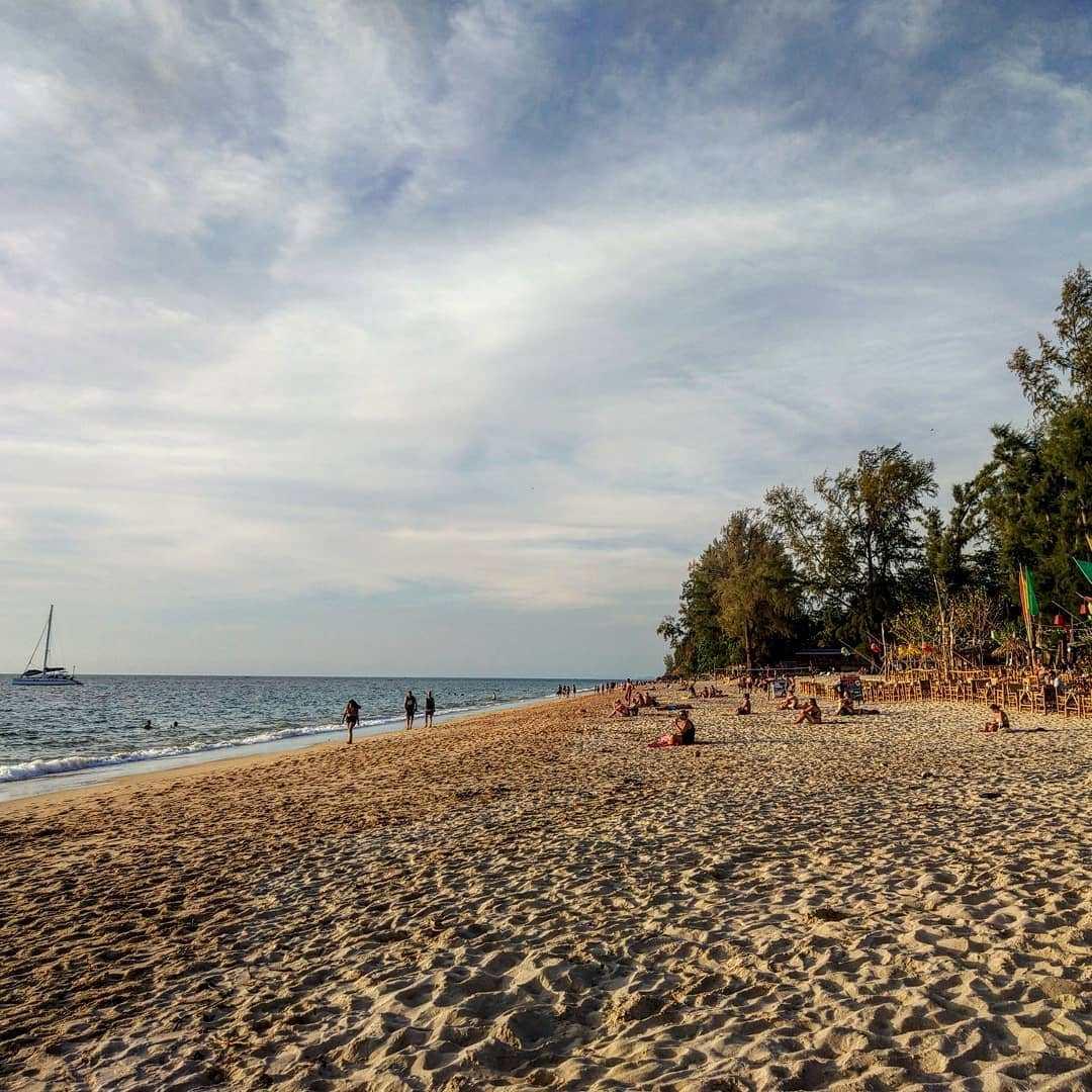 Strand op Koh Lanta, Thailand