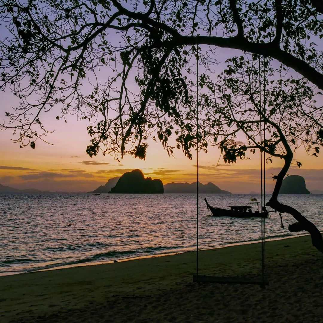 Sunset seen from Koh Ngai