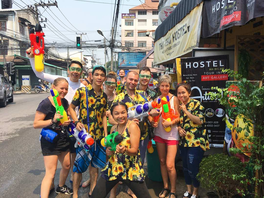 Songkran Thai Old and New on April 13th