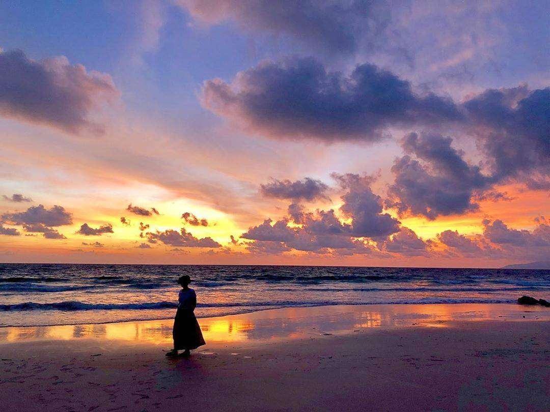 Sunset on Koh Kradan
