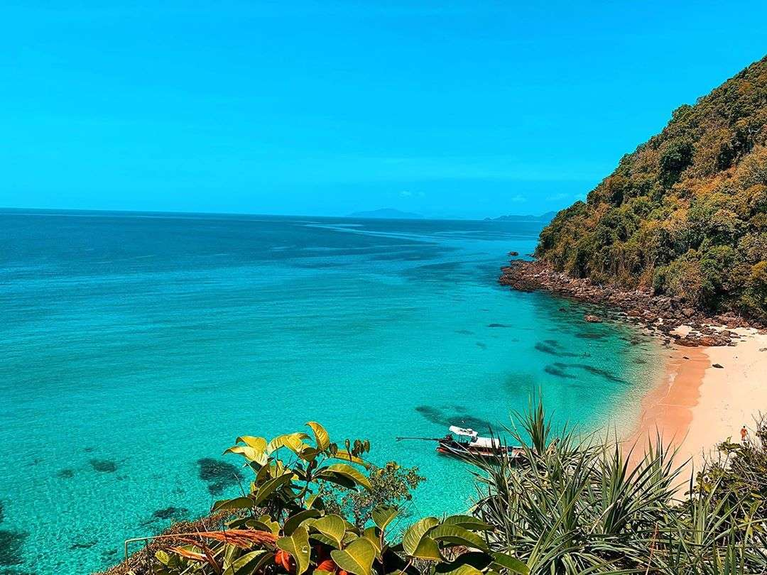 Koh Kradan (one of the Trang Islands in southern Thailand)