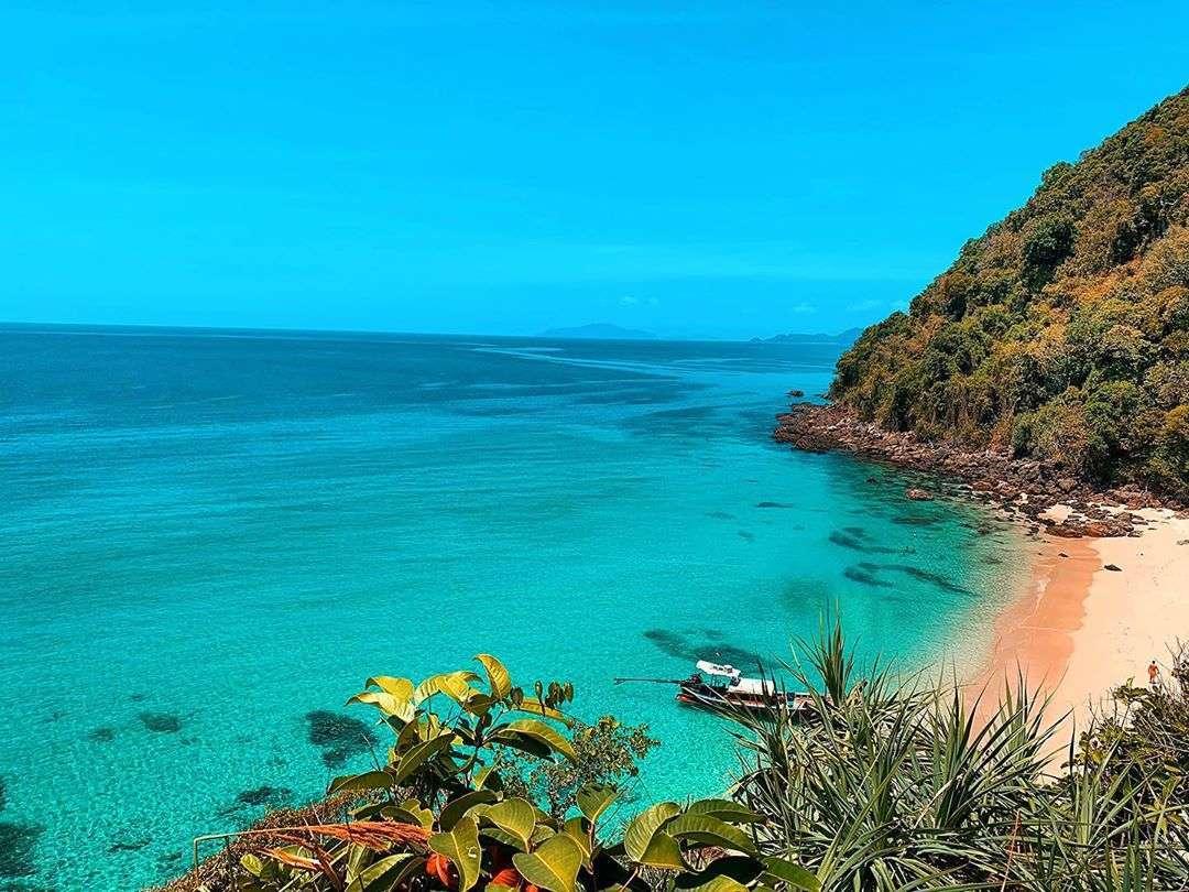 Koh Kradan (een van de Trang Eilanden in het zuiden van Thailand)
