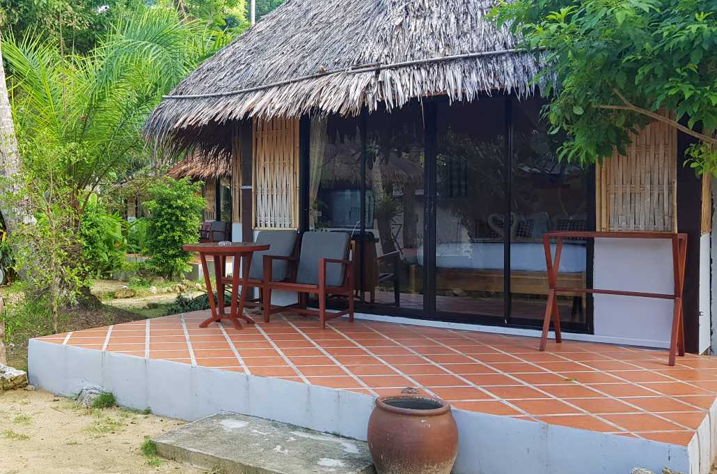 bungalow in the garden at Thapwarin Resort Koh Ngai