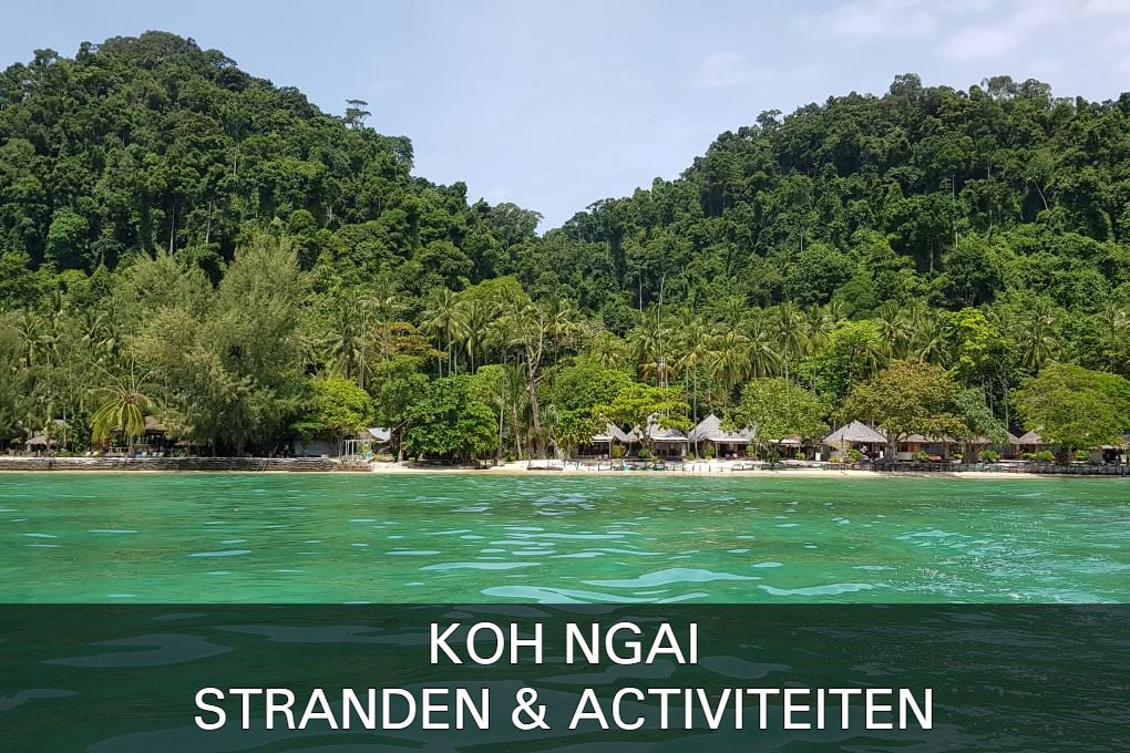 Read all about Koh Ngai Beach's beaches & activities here