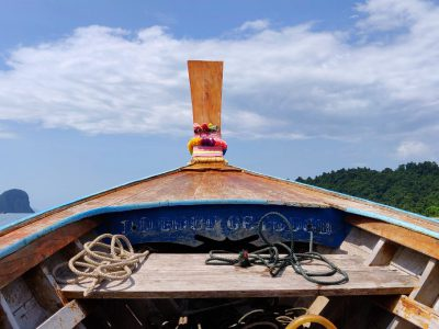 Travelling To Koh Ngai By Longtail Boat