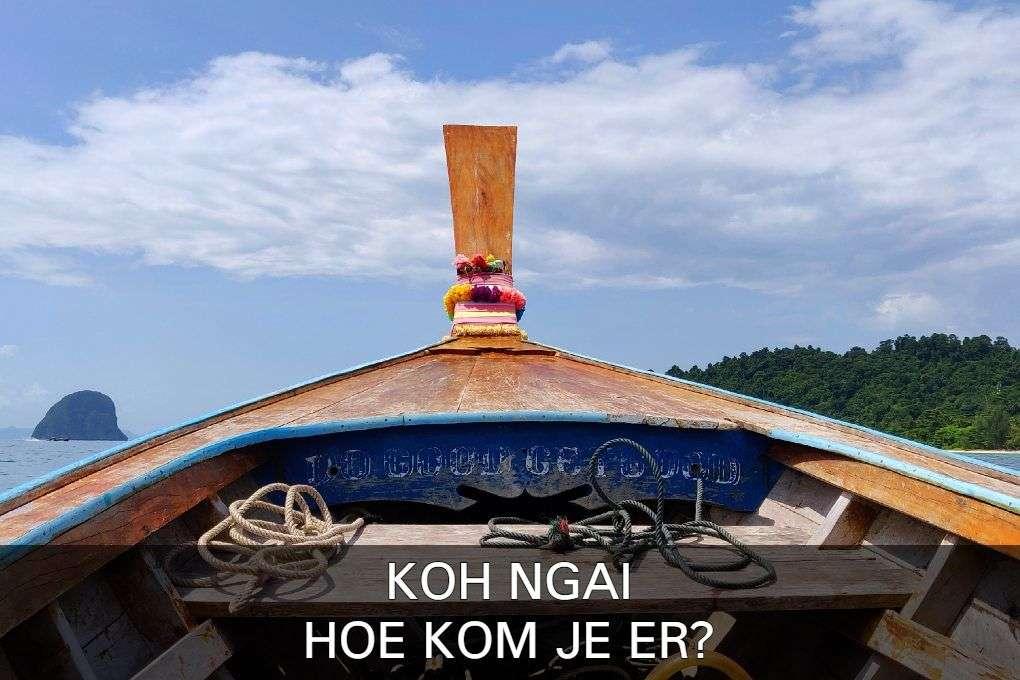 Lees hier alles over reizen naar Koh Ngai