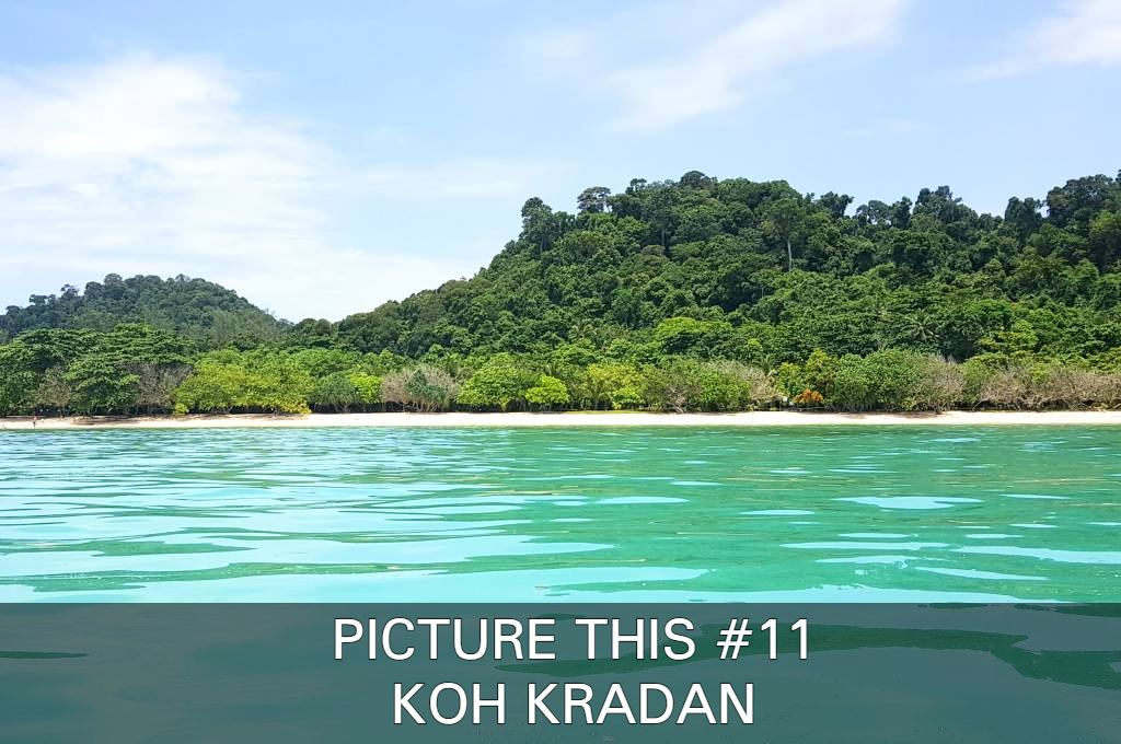 Click here if you want to see nice pictures of Koh Kradan