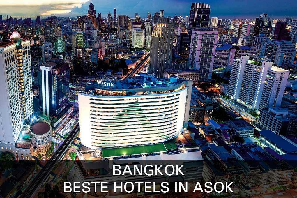 Vind hier de beste hotels in het Asok gebied van Bangkok, Thailand