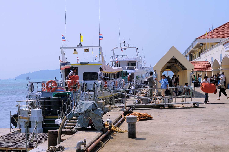 The Rassada Pier on Phuket in Thailand