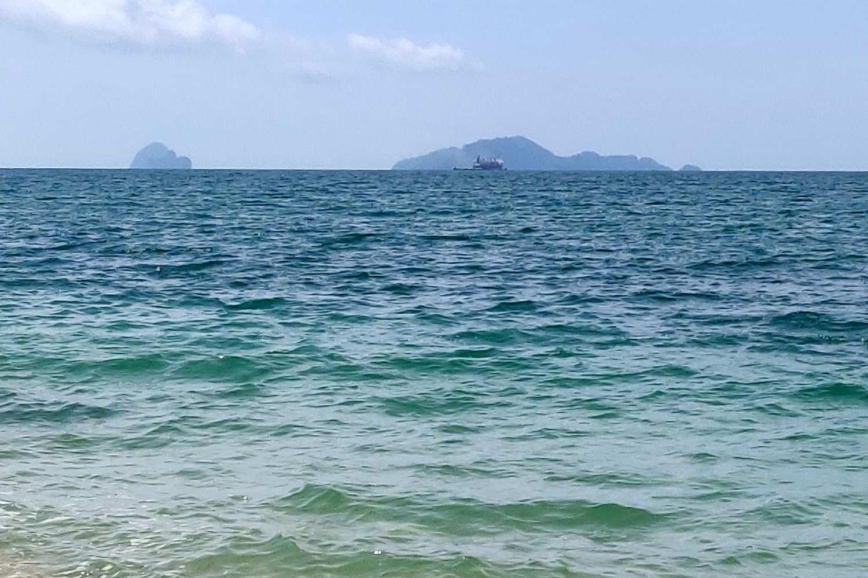 The Andaman Sea overlooking the island of Koh Lanta