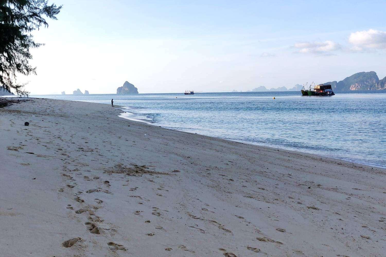 Het hoofdstrand Kradan Beach op Koh Kradanvan