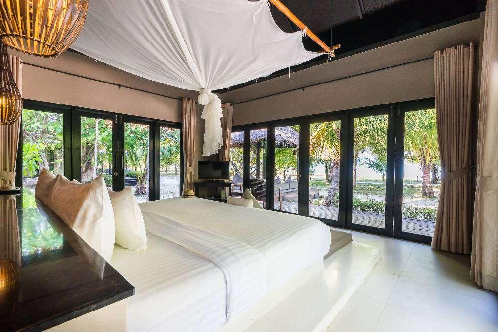 The Santi Villa inside of The Sevenseas Resort on Koh Kradan