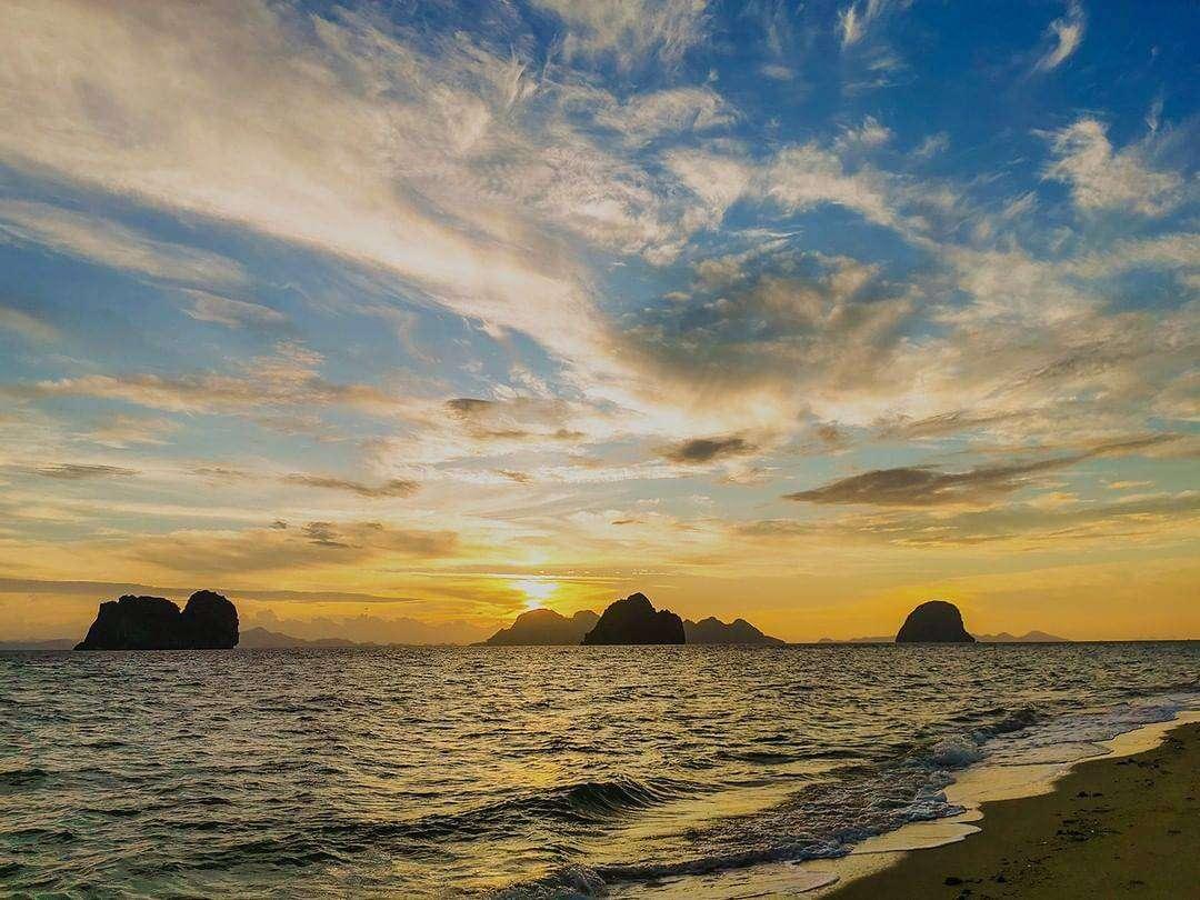 De eilanden in de buurt van Koh Ngai