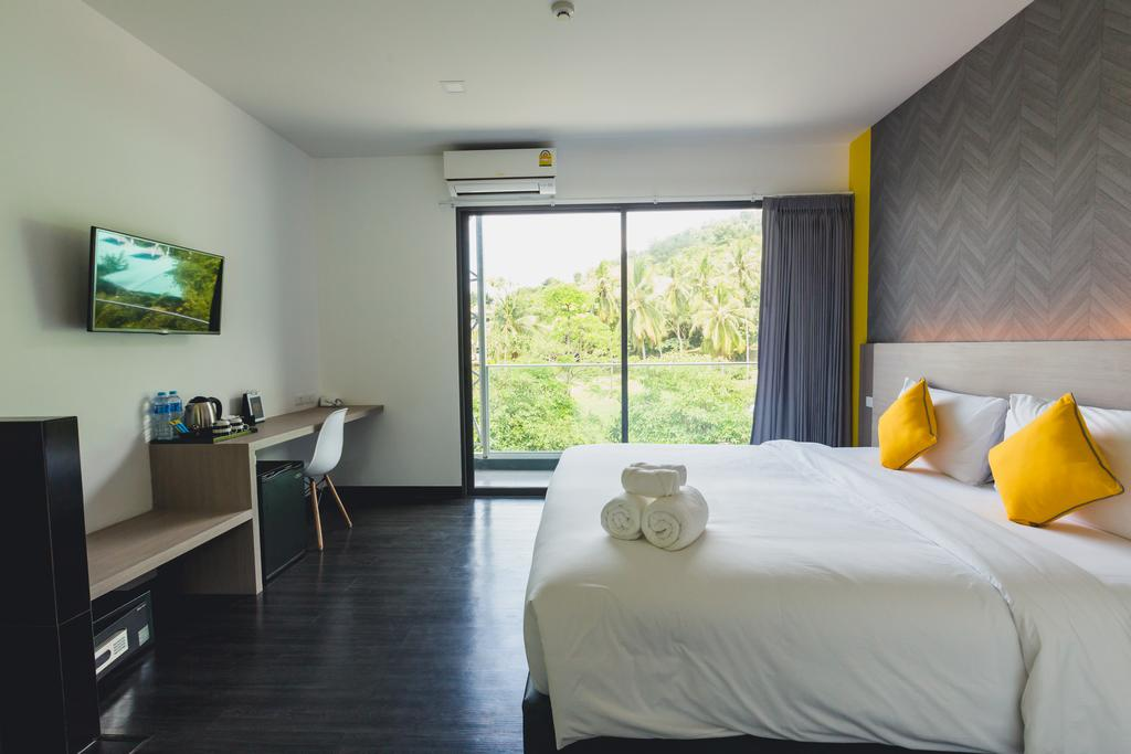 Double room in Wake Up Ao Nang (one of the best hotels in Ao Nang)