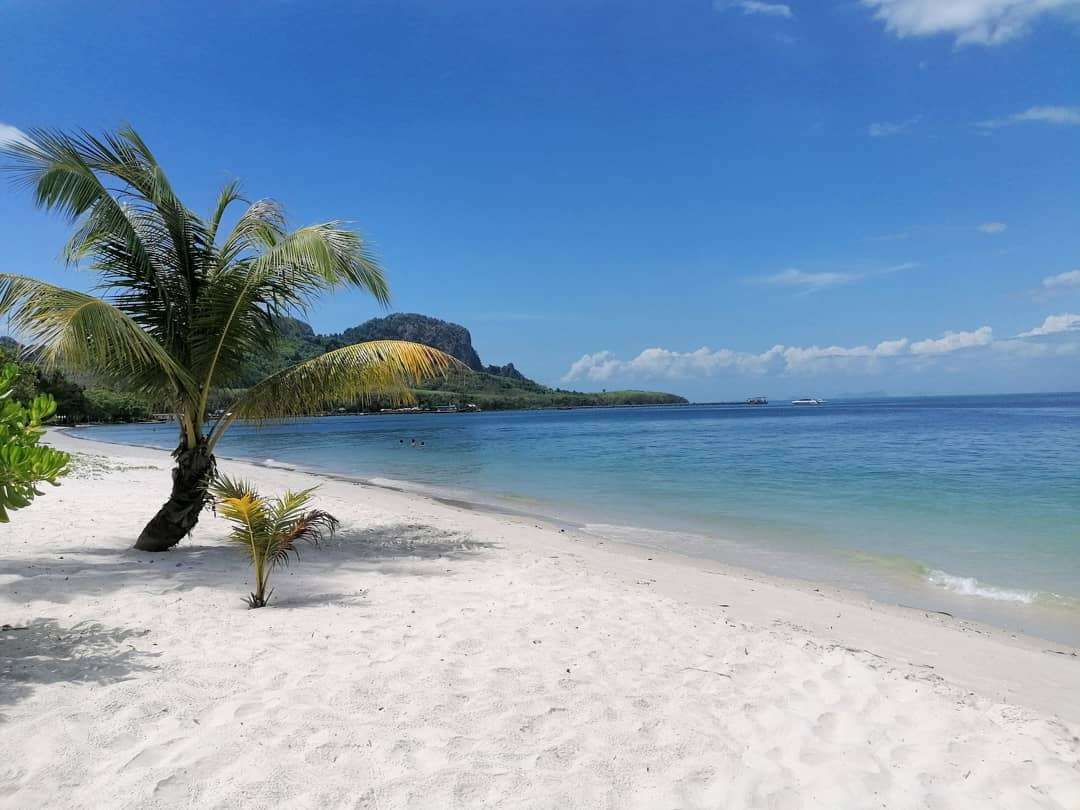 White beach on Koh Mook
