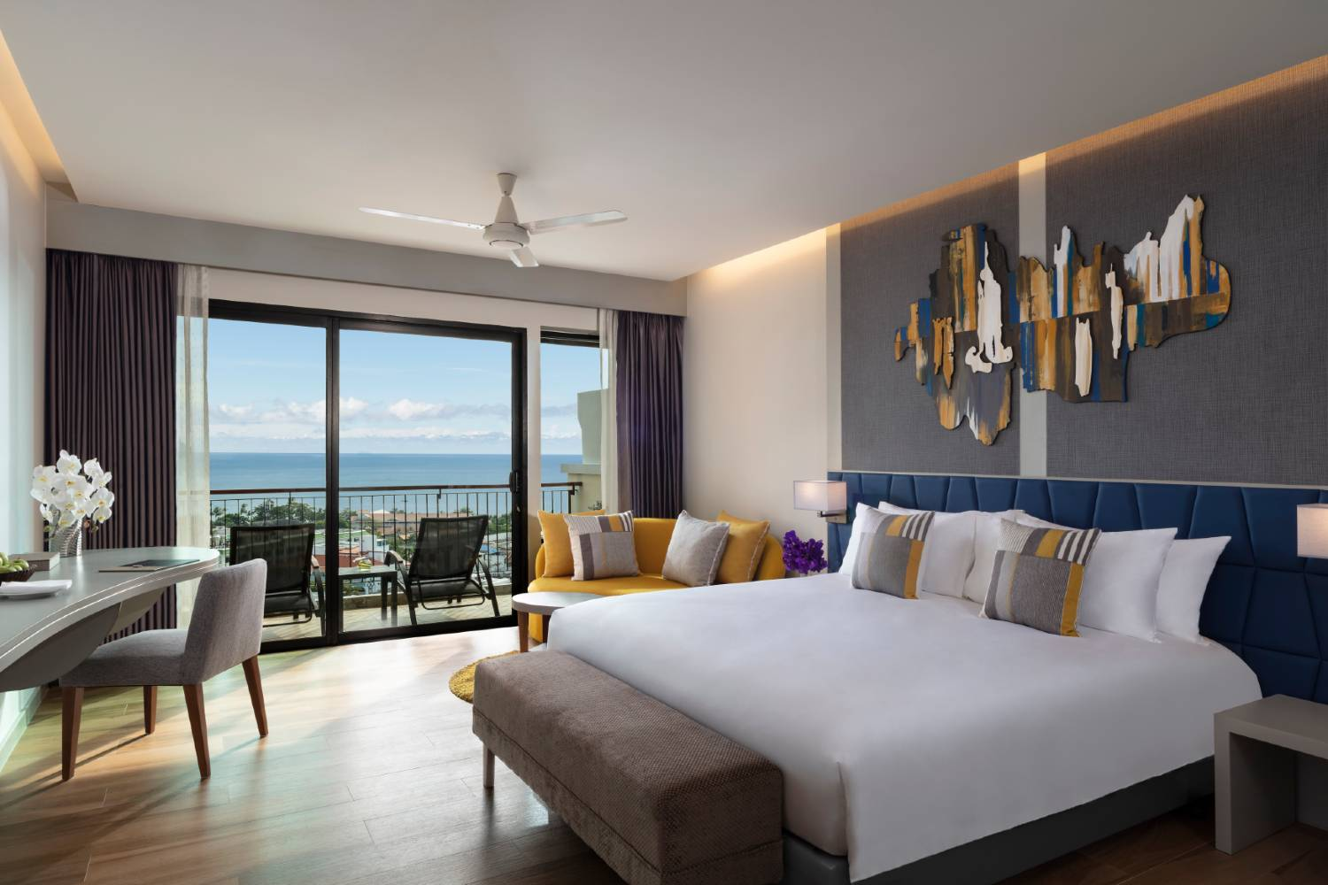 The Avani Superior Sea View Room of the Avani Ao Nang Cliff Krabi Resort